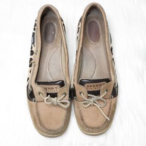Sperry Top-Sider Leopard Flats